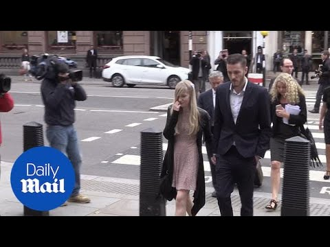Charlie Gard's parents arrive at court ahead of the latest hearing - Daily Mail