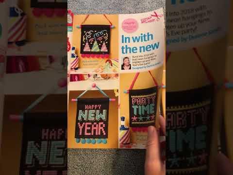 Cross Stitch Crazy January 2018 Flipthrough!