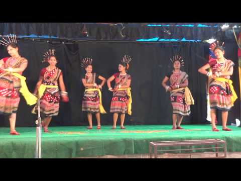 Mora mana udi jaye re dance performed by the students of Kuchinda Degree College, Kuchinda