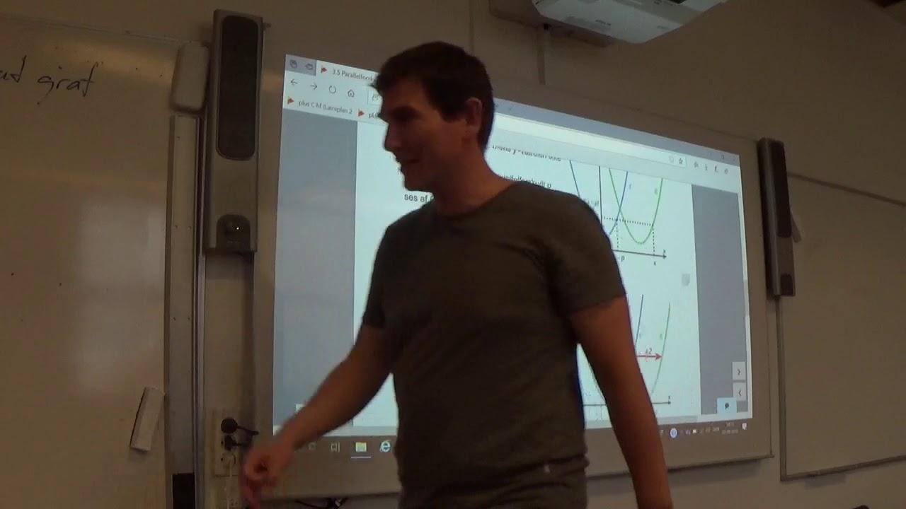 Mat B 3.5 Parallelforskydning af graf