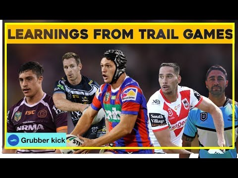 Learnings from Pre-Season Trail Games NRL 2019 [HD]