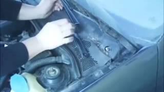 Vw Polo 6N1 Remplacer le moteur d'essuie-glace ( FRANÇAIS )