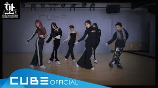 (여자)아이들((G)I-DLE) - '화(火花)(HWAA)' (Choreography Practice Video)
