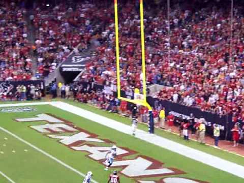 Matt Schaub To Andre Johnson MNF Texans Vs. Titans 2009