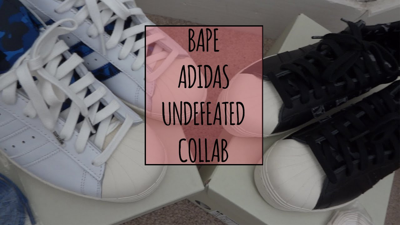 online retailer 6431c 5c766 ... Campus 80s ReviewOn Feet - YouTube Bape x Undefeated x Adidas Superstar  80V + On Feet - YouTube ...