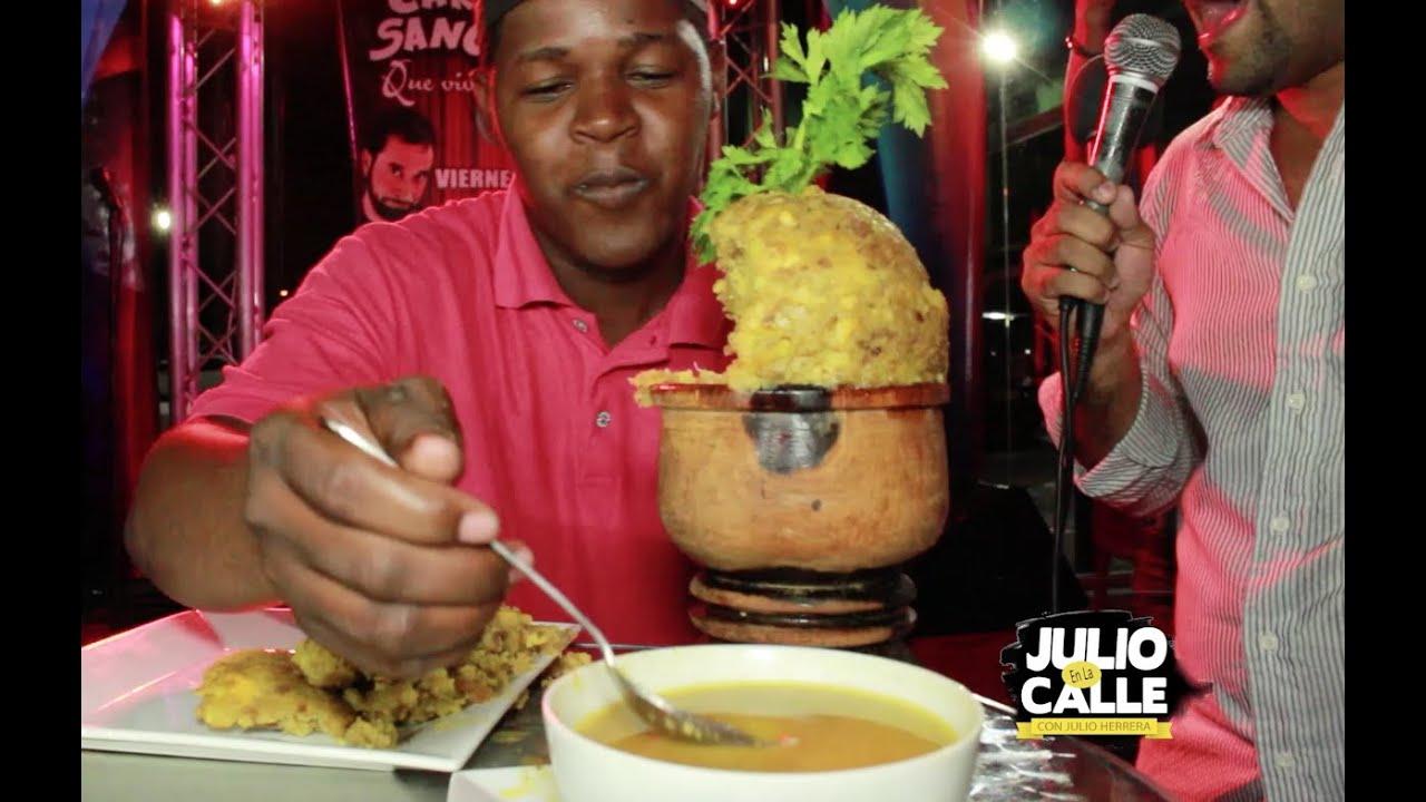 Download EL RETO - Comerse un MOFONGO GIGANTE por 10,000 Pesos  - Julio en la Calle