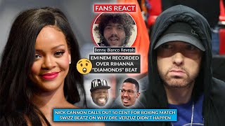 Fans Discover Eminem Initially Recorded Rihanna's DIAMONDS, 50 Cent Called Out, Swizz On Dre Verzuz