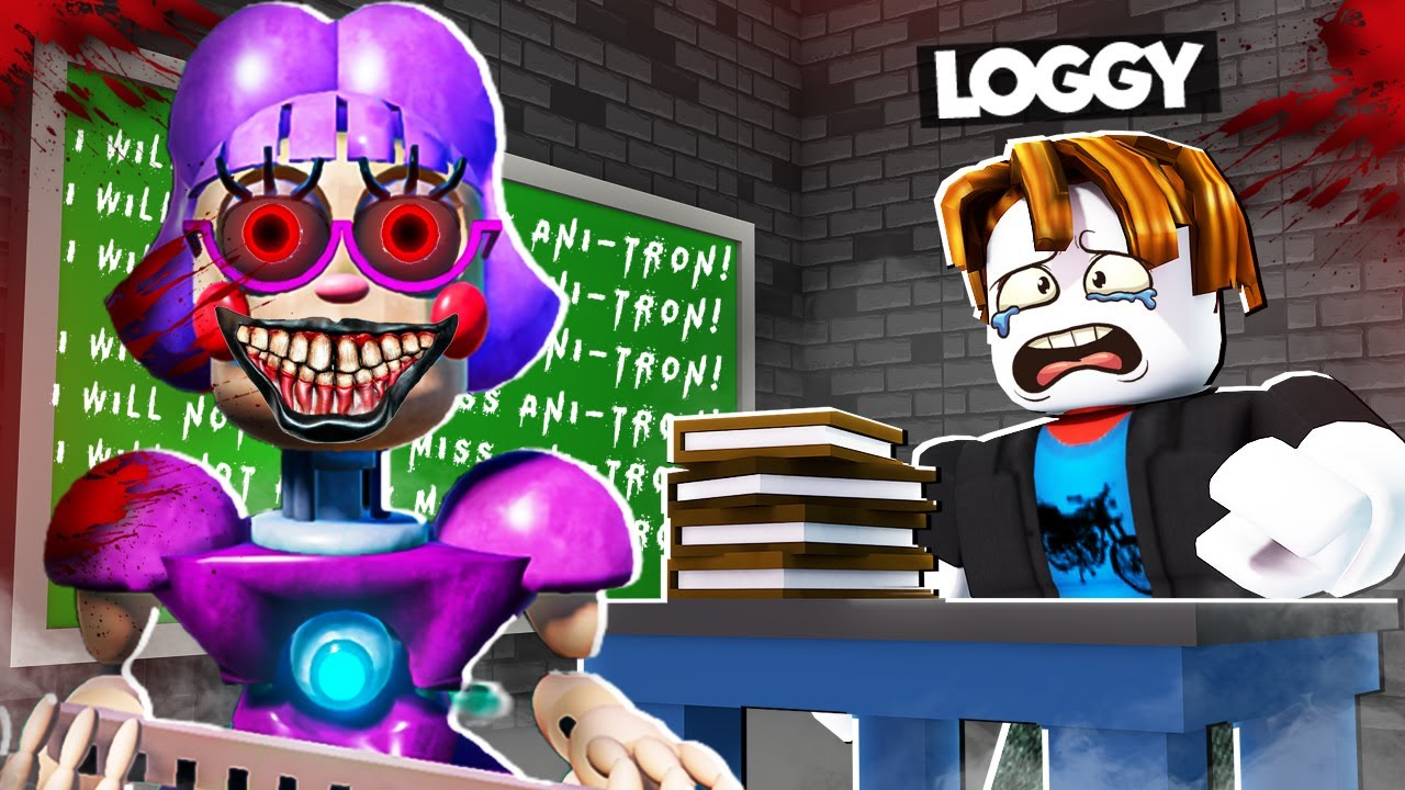 SCARY TEACHER KIDNAPPED LOGGY | ROBLOX
