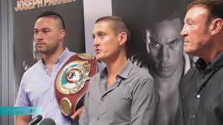 Full Press Conference: Joseph Parker makes a fight purse final offer of 65-35 to Anthony Joshua