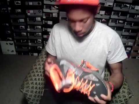 Nike Lebron 10 \u0026quot;BHM\u0026quot; Black History Month on feet