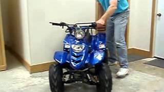 410BXL Youth Mini ATV Demo From FamilyGoKarts.com