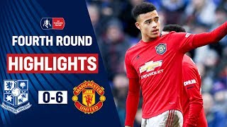 Ruthless United Score SIX in Clinical Style | Tranmere 0-6 Manchester United | Emirates FA Cup 19/20