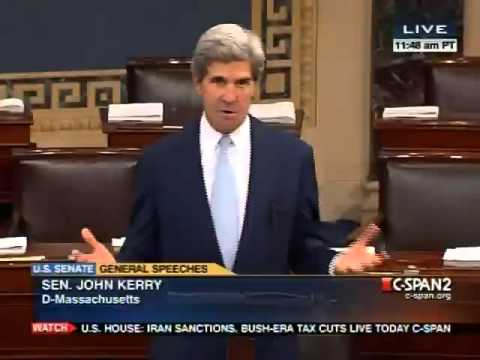 Kerry: Climate Change Skeptics are 'Flat Earth Caucus'