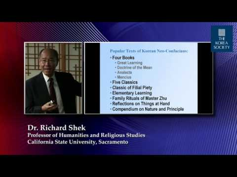 East Asia and Neo-Confucianism with Prof. Richard Shek