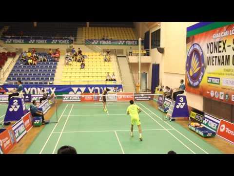 Clip góc quay gần trận đơn nam giữa Xue Song vs JEON Hyeok Jin