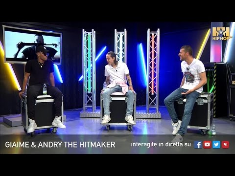 GIAIME E ANDRY THE HITMAKER LIVE SU HIP HOP TV 🎤👊🏻📲
