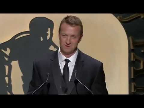 Rob Blake Hockey Hall of Fame Induction Speech (2014)