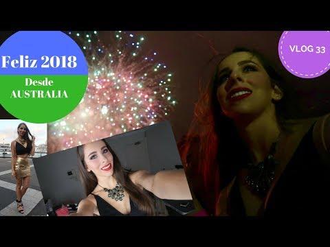 Año Nuevo en AUSTRALIA 2018 - SYDNEY - FIREWORKS - HAPPY NEW YEAR - VLOG 33