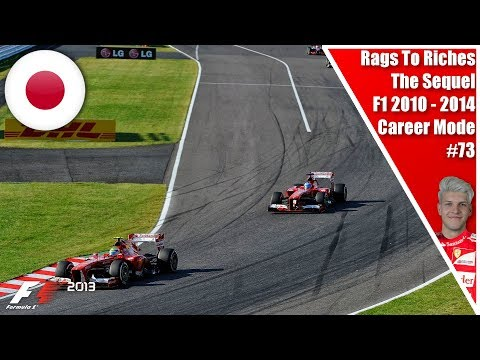 VETTEL VS HAMILTON GETS FIESTY!!! RAGS TO RICHES THE SEQUEL S4 R15 EP73 I F1 2013 JAPAN!!