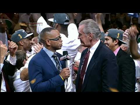 The 2012 NBA Championship Trophy Presentation: The Heat are Champions!