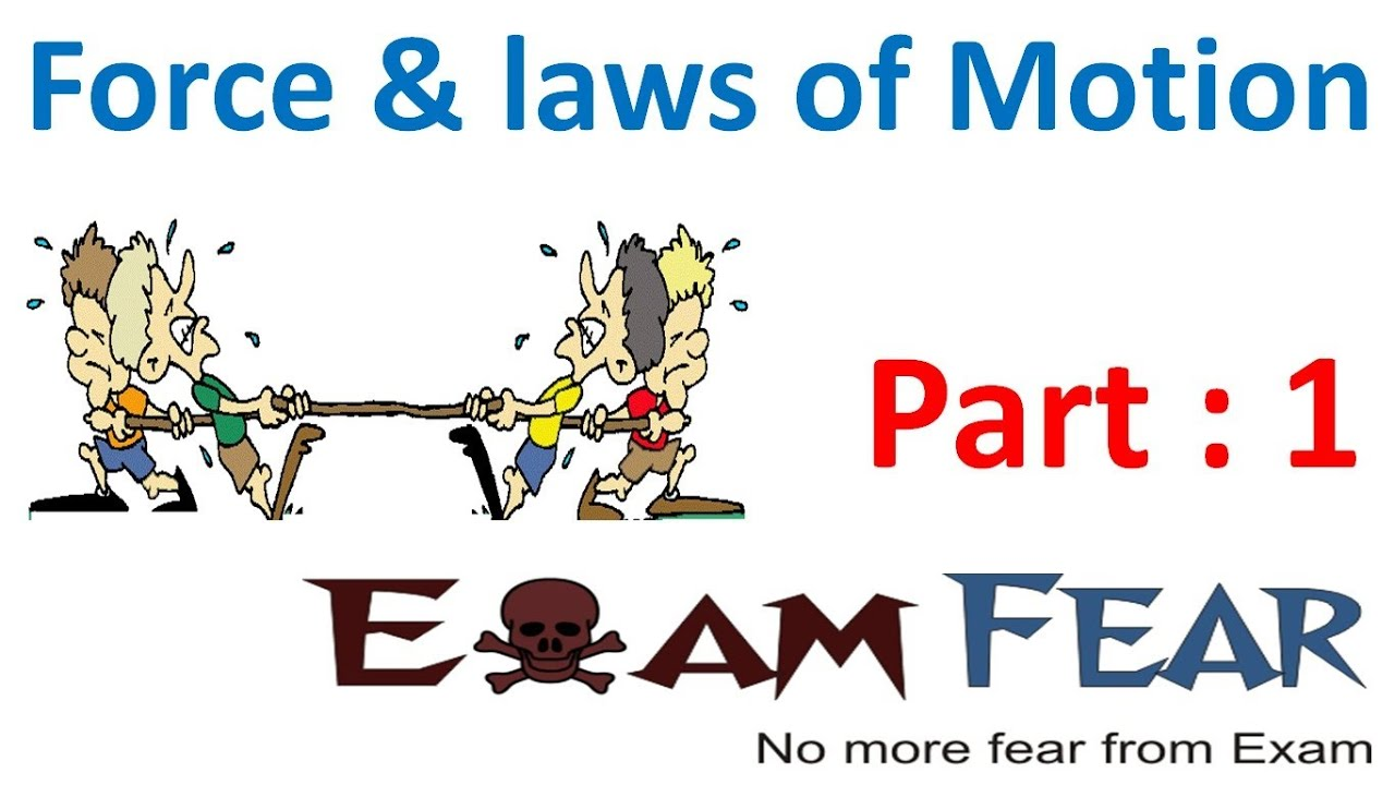 Physics Force Laws Of Motion Part 1 Introduction Balanced