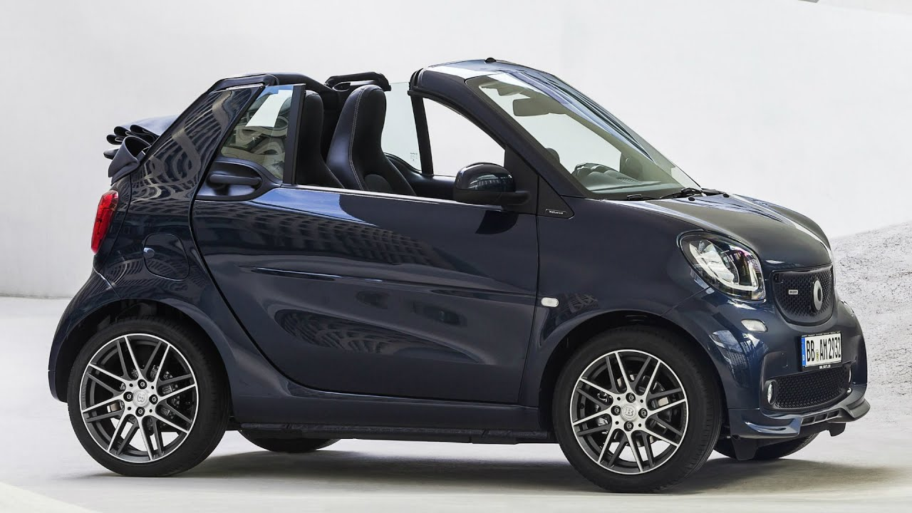 2016 smart brabus fortwo cabrio interior exterior and. Black Bedroom Furniture Sets. Home Design Ideas