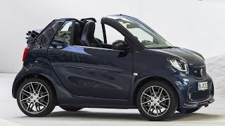 2016 Smart BRABUS Fortwo Cabrio Interior, Exterior and Drive