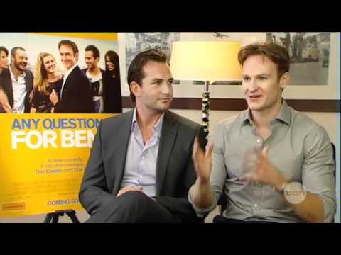 """""""Any Questions for Ben? Interview with Josh Lawson and Christian Clark """""""