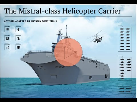 New Russia  The Mistral-Class Helicopter Carrier- 2017
