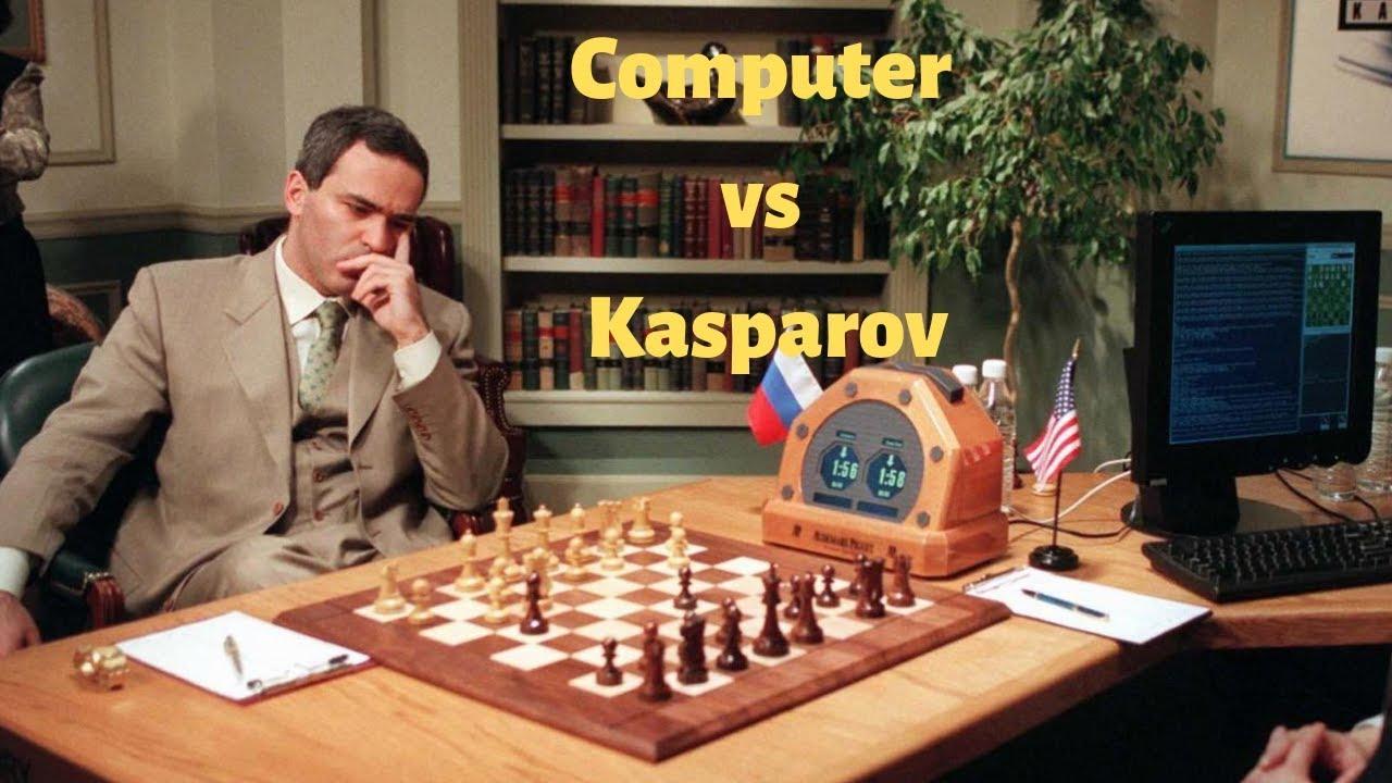 Resultado de imagem para Garry Kasparov e Deep Blue