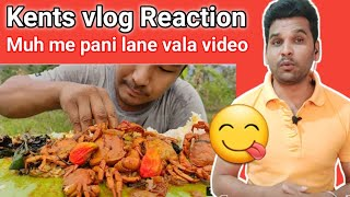 Spicy Local Crab Curry    Simple and Delicious    Kents vlog    Reaction