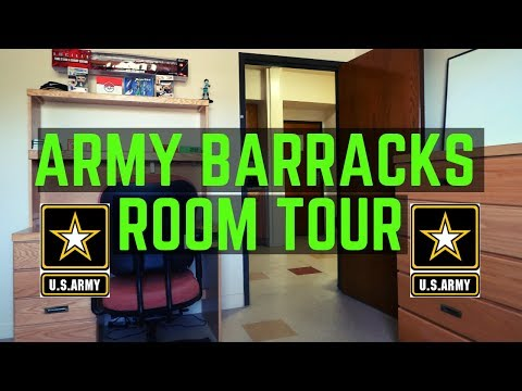 ARMY BARRACKS ROOM TOUR (2019) | FORT BLISS, TEXAS