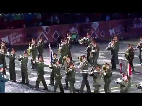 Moscow Military Festival Russia Southern MIlitary District - Spasskaya Tower 2015
