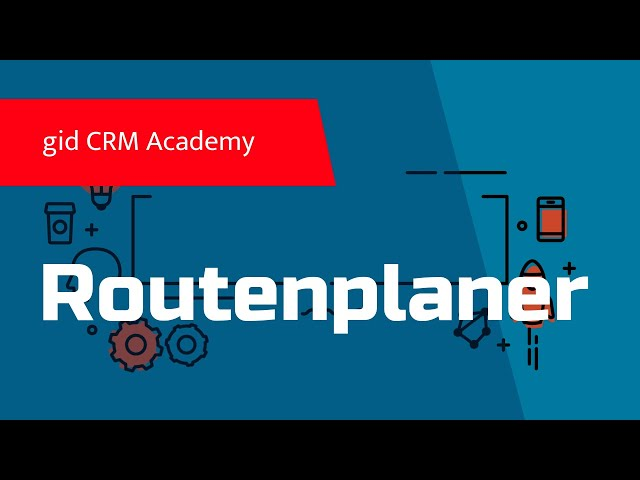 CRM CAS genesisWorld - Smartdesign - Routenplaner