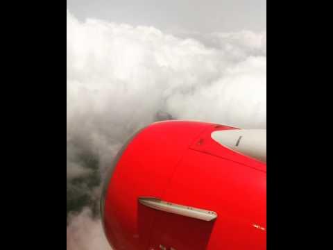 Mumbai to Goa #spicejet Beautiful view