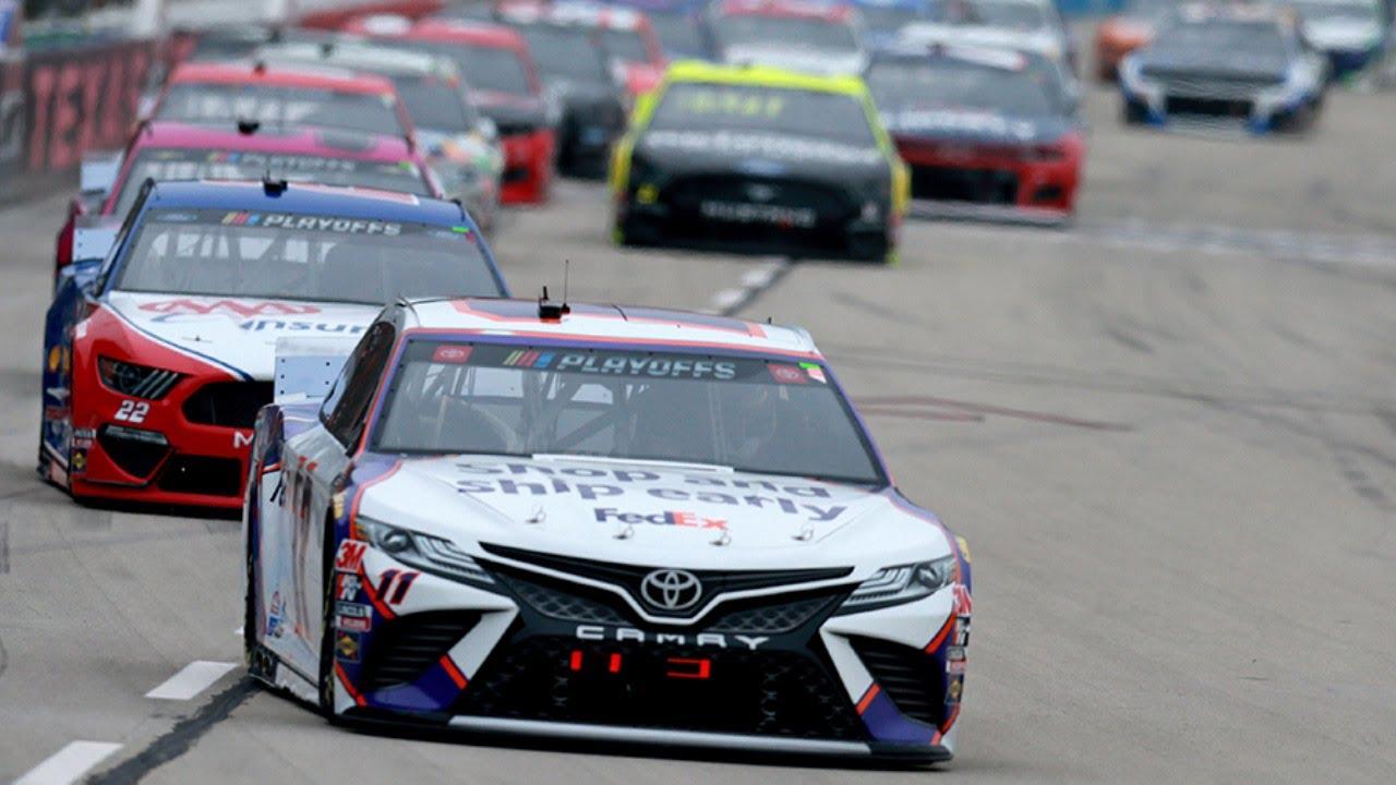 Denny Hamlin live in-car camera presented by Coca-Cola | NASCAR Playoffs at Texas