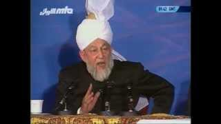 Question and Answer Session (12 May 1996, part 1) with Hazrat Mirza Tahir Ahmad