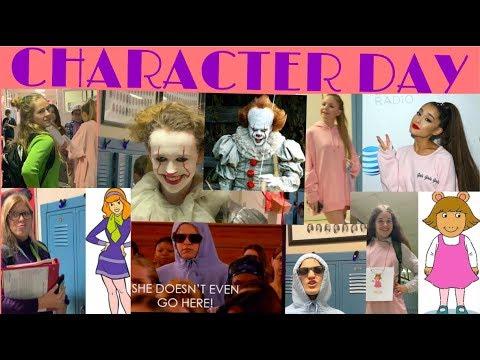 School Vlog: Hocoming/Spirit Week Character Day | 2019