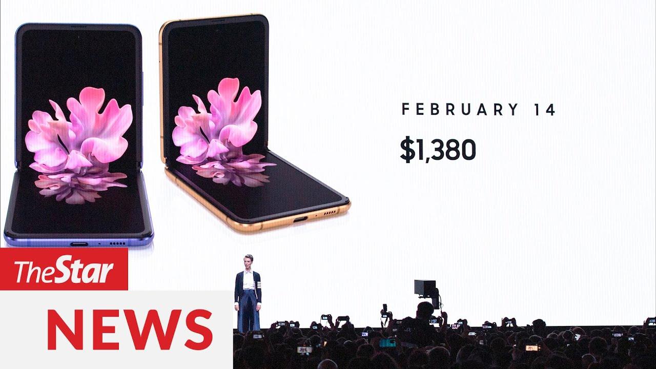 Samsung unveils 2nd folding phone