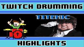 Jontron feat. Schmoyoho - Titenic: The JonSong (Drum Cover) -- The8BitDrummer