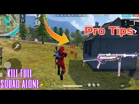 FREE FIRE | RANK PRO TIPS AND TRICKS 20 KILLS GAMEPLAY