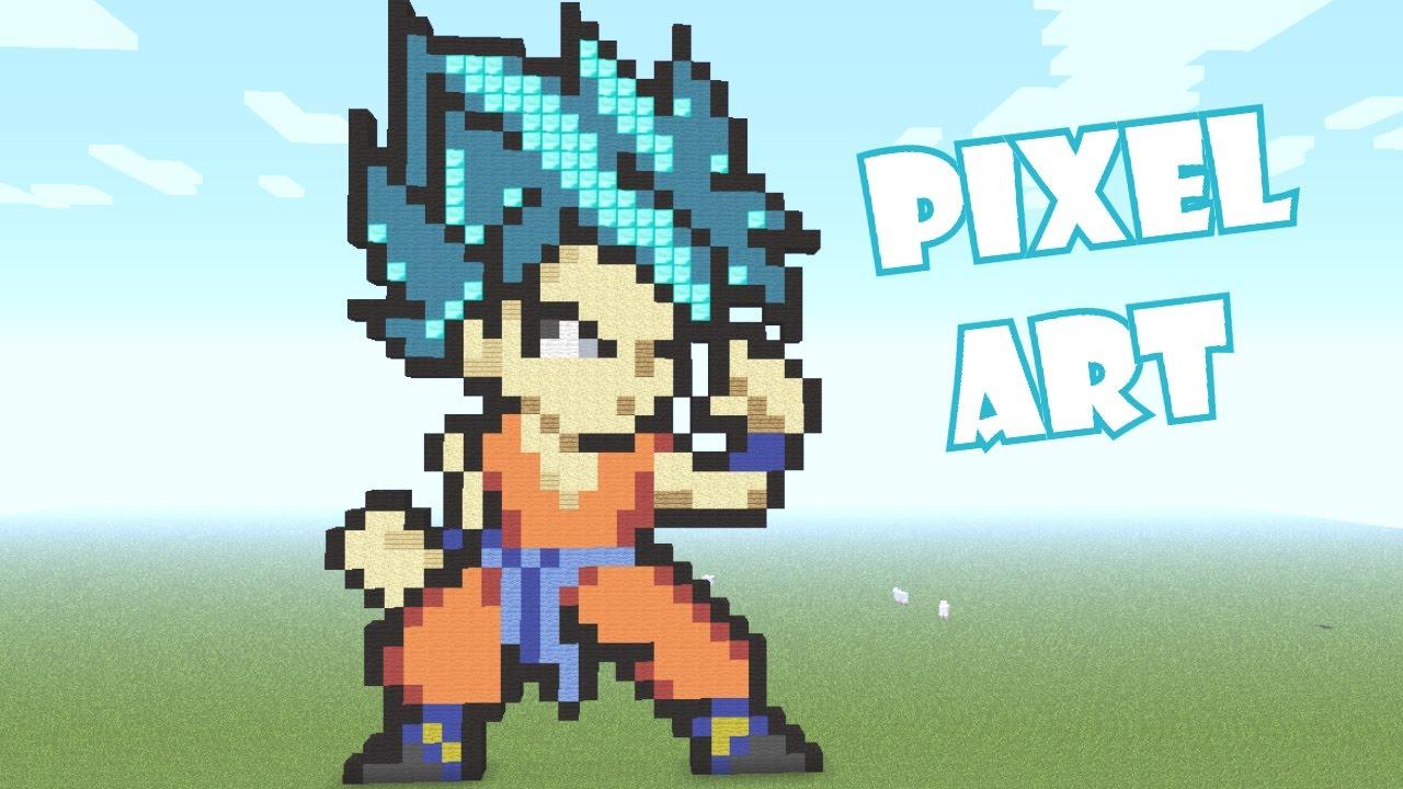 pixel art goku