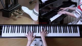 使用楽譜:ぷりんと楽譜・上級、 採譜者:未記載、 2019年2月2日 録画.