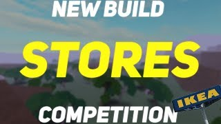 NEW Building Competition! Roblox Lumber Tycoon 2