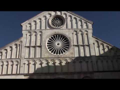 Croatia Zadar - City Tour, Attractions & most beautiful sunset in the world