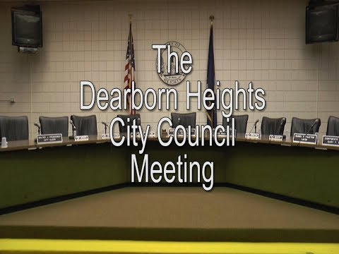 Dearborn Heights City Council Meeting : 08-13- 2019