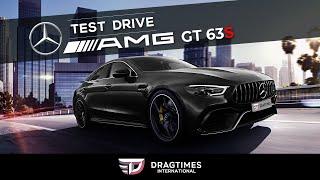 Mercedes AMG GT 63s   DT International Test Drive