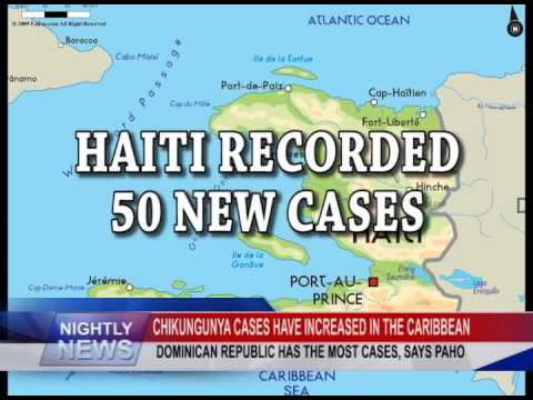 CHIKUNGUNYA CASES HAVE INCREASED IN THE CARIBBEAN