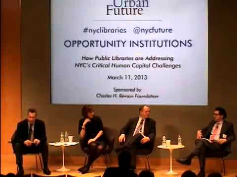 Center for an Urban Future - Opportunity Institutions - 4 of 4 - Panel 2