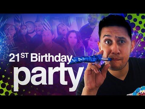 Crazy 21st Birthday Surprise Party | DJ LIGHT Shopping (Chauvet FX Par 9)